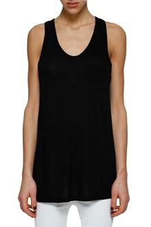 T by ALEXANDER WANG Sleeveless top in jersey