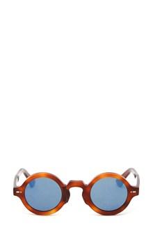 MOVITRA Occhiale montatura havana e lente blu specchio