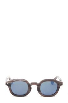 MOVITRA Occhiale montatura corno con lente blu