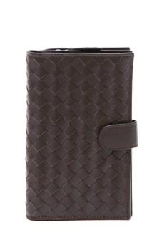 BOTTEGA VENETA Braided leather wallet