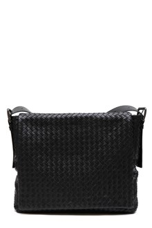 BOTTEGA VENETA Braided leather messanger bag