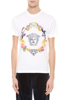 VERSACE 'Medusa' logo embroidered t-shirt