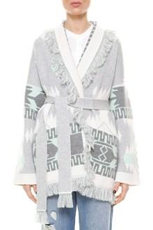 ALANUI Oversize jacquard cashmere cardigan