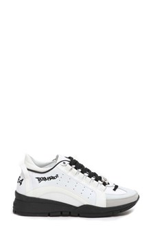 DSQUARED2 Sneakers with logo plate