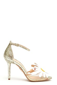 CHARLOTTE OLYMPIA 'Margherite' glittered sandals