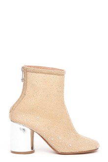 MAISON MARGIELA ankle boot with zipper and contrasting color heel