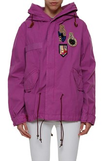 MR & MRS ITALY Parka with patch