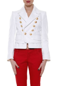 DSQUARED2 Jacket with gold buttons