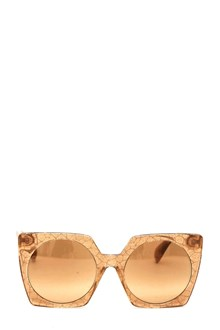 YOHJI YAMAMOTO 'Mazzuchelli' Sunglasses with italian frame