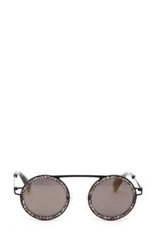 YOHJI YAMAMOTO Lace effect sunglasses