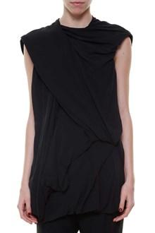 RICK OWENS 'bundle' sleeveless top