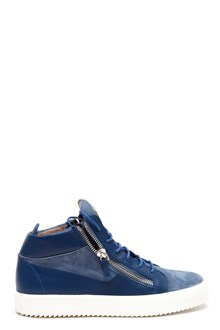 GIUSEPPE ZANOTTI DESIGN 'May'  leather high sneaker with lateral zip