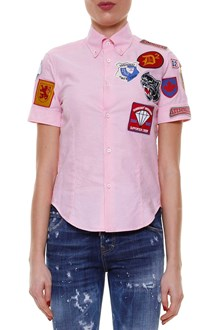 DSQUARED2 Patch short sleeves shirt