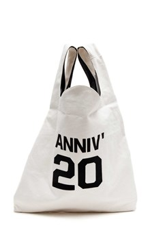MM6 BY MAISON MARGIELA Cotton shopping bag  print 'Anniv'20 '