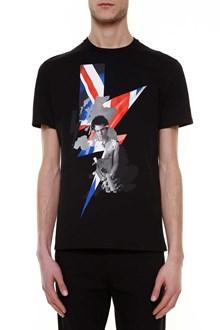 NEIL BARRETT 'punked britain' printed t-shirt