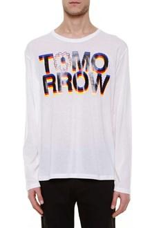 STELLA MCCARTNEY 'tomorrow' printed long t-shirt
