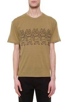 STELLA MCCARTNEY 'cats' printed 1/2 sleeve t-shirt