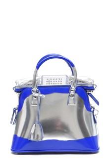 MAISON MARGIELA 'Tote' small silver hand bag