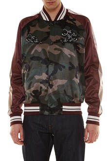 VALENTINO 'Souvenir' panter embroidered bomber jacket