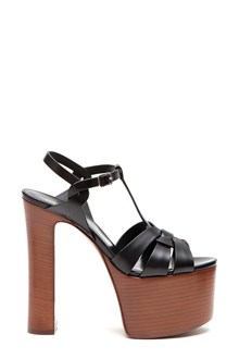 SAINT LAURENT 'Betty 80 bow' sandal