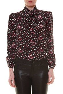 SAINT LAURENT 'Star' printed blouse