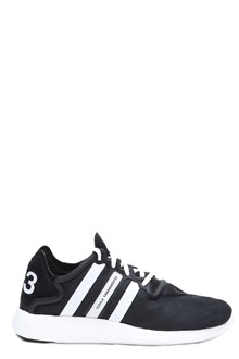 Y-3 Low sneakers 'Yohji Run' by Yamamoto: low sneakers with decorative strips