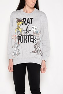 MOSCHINO 'Rat-a-porter' long sleeves sweatshirt