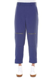 STELLA MCCARTNEY Pants with zippers