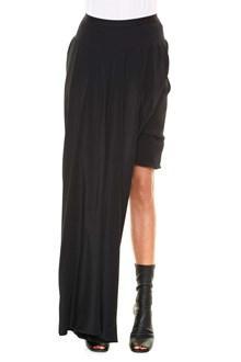 RICK OWENS 'Long boner bud' skirt long only side