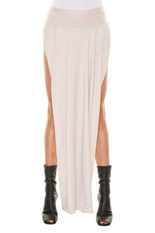 RICK OWENS Double high skirt with side split