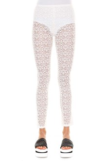 STELLA MCCARTNEY Lace leggings with side zip