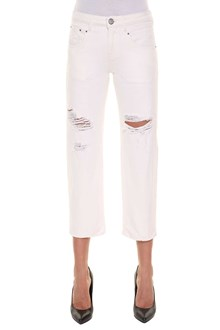 ONEDRESS ONELOVE ripped straight jeans
