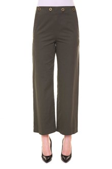 THEORY 'Namid' trousers with buttons at the waist