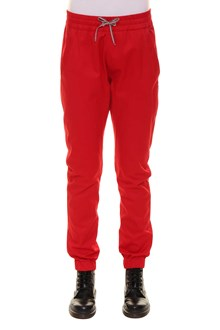 MONCLER GAMME ROUGE Trousers with elastic ankle