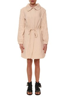 ISABEL MARANT 'Boyd' long dust coat jacket with belt