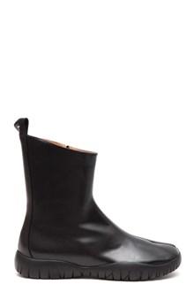 MAISON MARGIELA Ankle 'Josephine' leather boots