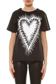 FAUSTO PUGLISI Maxi heart print t-shirt by Fausto Puglisi