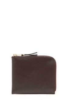 COMME DES GARÇONS Leather mini zipped wallet