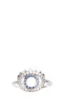 KENZO 'Mini eye' sterling silver ring. 2,74 GR