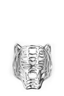 KENZO Sterling silver 'Tiger' ring