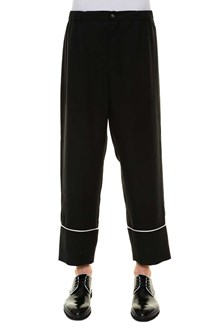 LANEUS Trousers with details at bottom