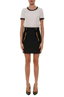 DSQUARED2 Short sleeves dress with gold buttons