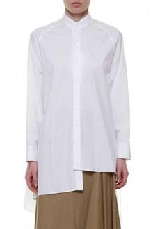 YOHJI YAMAMOTO Asymmetrical shirt open at the back