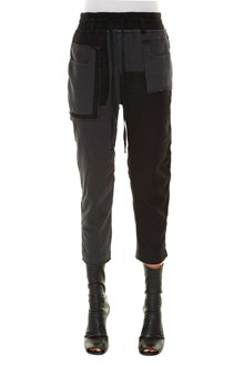HAIDER ACKERMANN Jogging trousers with patches