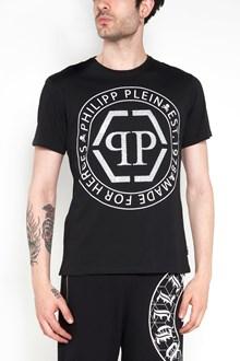 PHILIPP PLEIN Printed and Swarovski t-shirt