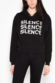McQ ALEXANDER McQUEEN 'Silence' printed sweatshirt with hood