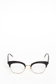 THOM BROWNE Gold glasses with logo plate
