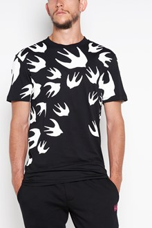 McQ ALEXANDER McQUEEN Swallow all over printed t-shirt