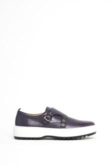 SALVATORE FERRAGAMO 'Damon2' calf leather sneaker