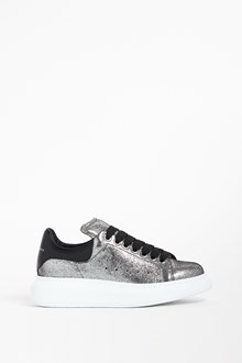 ALEXANDER MCQUEEN Leather sneaker with over sole